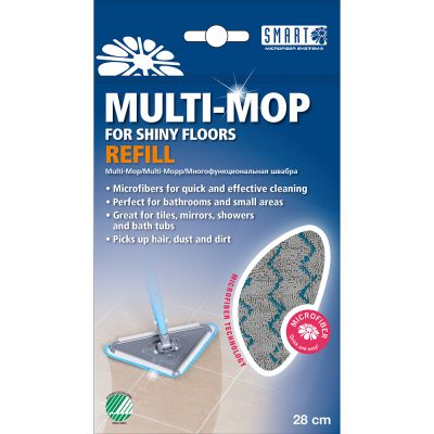 Multitool mop system refill packshot UK – Smart Microfiber