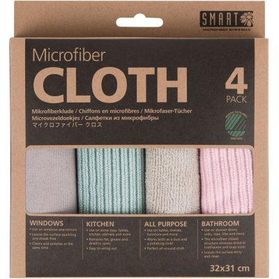 Microfiber cloth 4-pack – Smart Microfiber