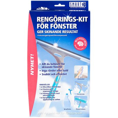 Window washing kit – Smart Microfiber